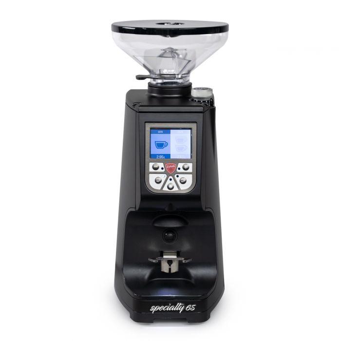 Eureka Atom 65 Espresso Grinder - Black Front