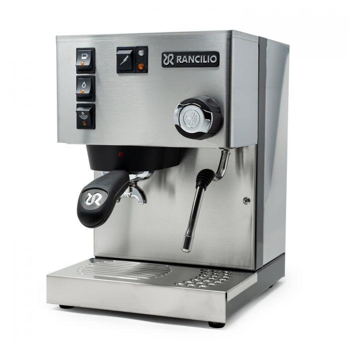 Rancilio Silvia Espresso Machine - Stainless - 3/4
