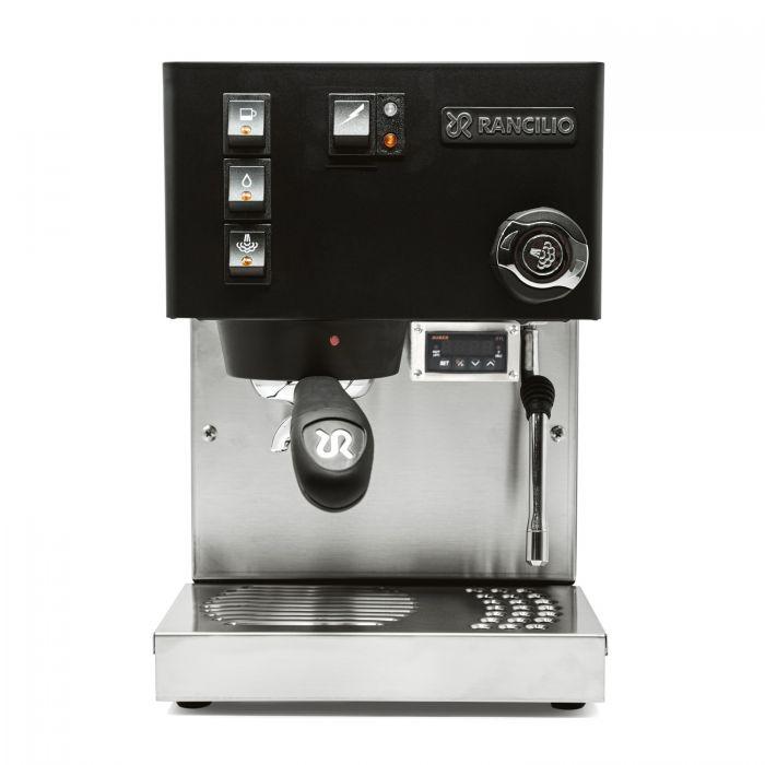 Rancilio Silvia PID Espresso Machine - black - front