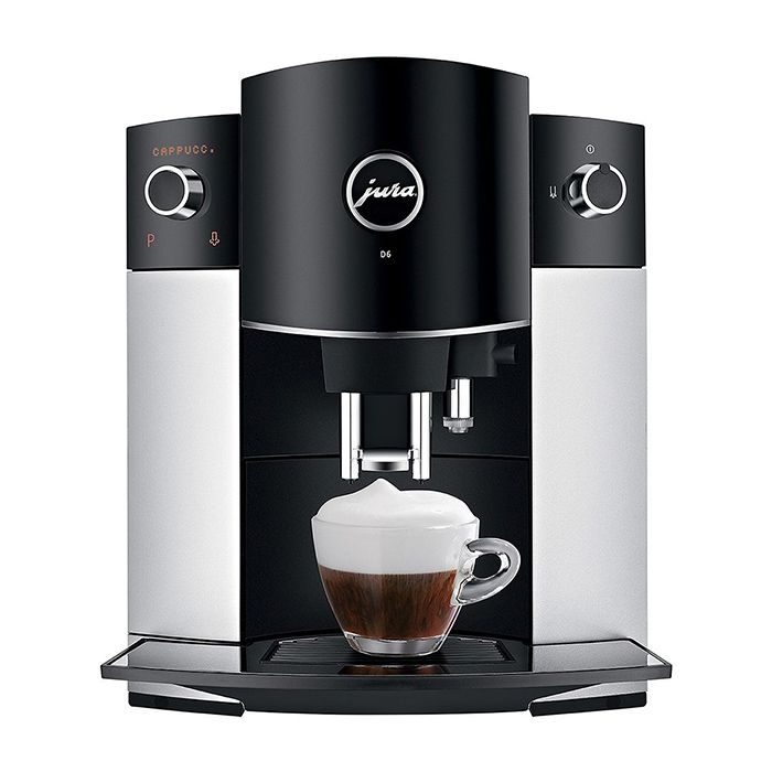 Jura D6 Superautomatic Espresso Machine - Platinum