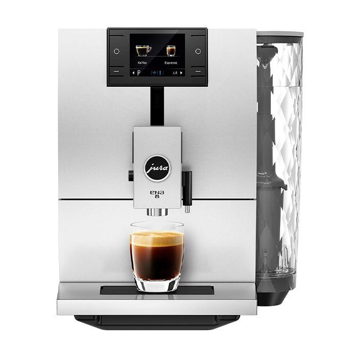 Jura ENA 8 Superautomatic Espresso Machine - Front