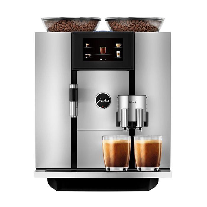 Jura Giga 6 Professional Superautomatic Espresso Machine - Aluminum 1