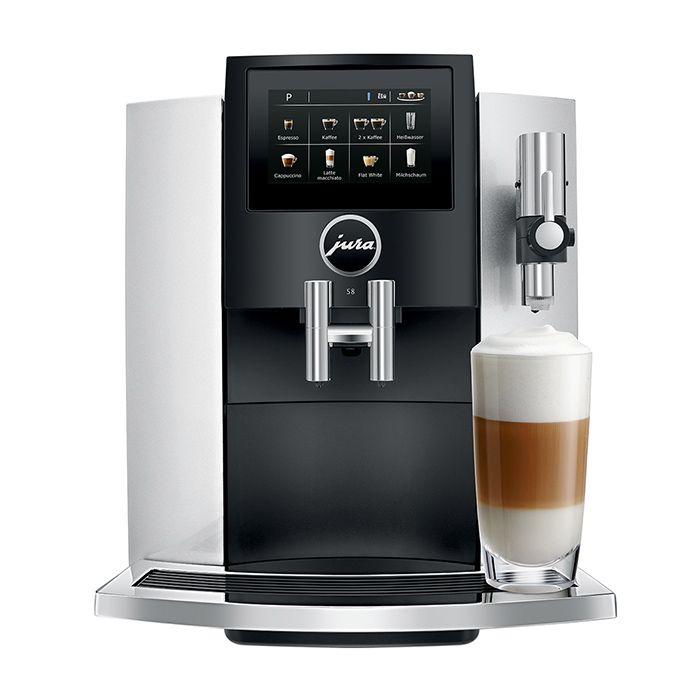 Jura S8 Superautomatic Espresso Machine - Silver