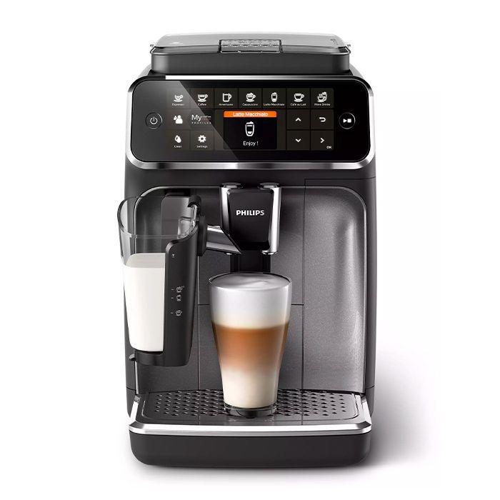 Philips 4300 LatteGo Superautomatic Espresso Machine - Front