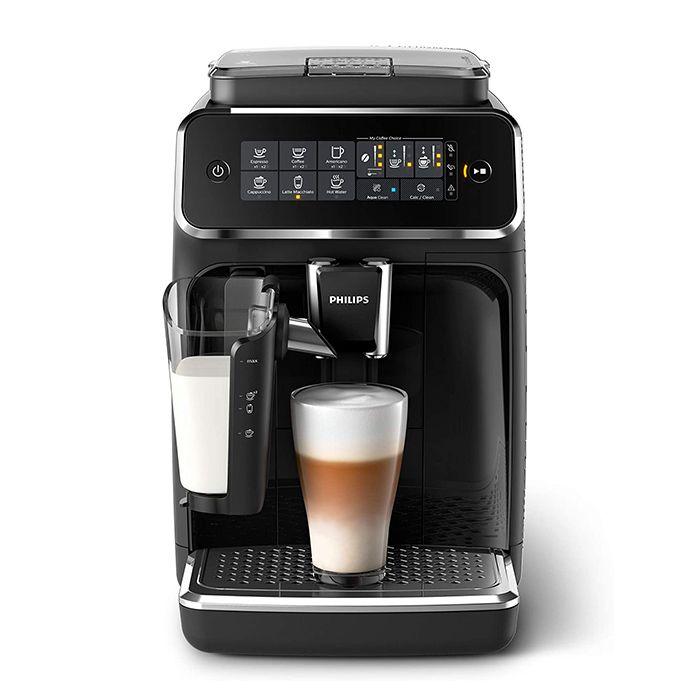 Philips 3200 LatteGo Superautomatic Espresso Machine - Front