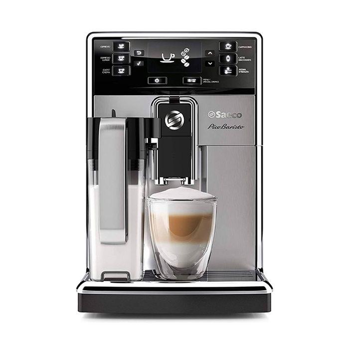 Saeco PicoBaristo Carafe Superautomatic Espresso Machine - Stainless - Front