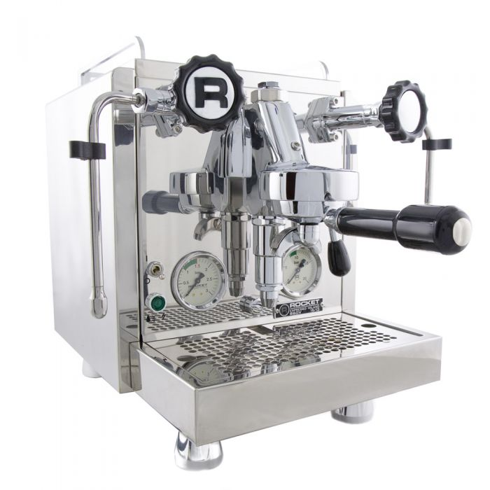 Rocket Espresso R60V Espresso Machine - Stainless Steel - Side