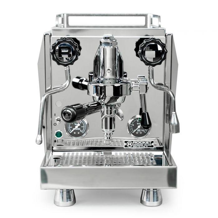 Rocket Espresso Giotto Timer Evoluzione R Espresso Machine - Front facing