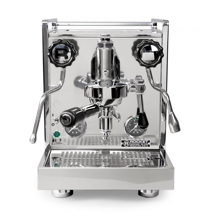 Rocket Espresso Mozzafiato Timer Evoluzione R Espresso Machine - front facing