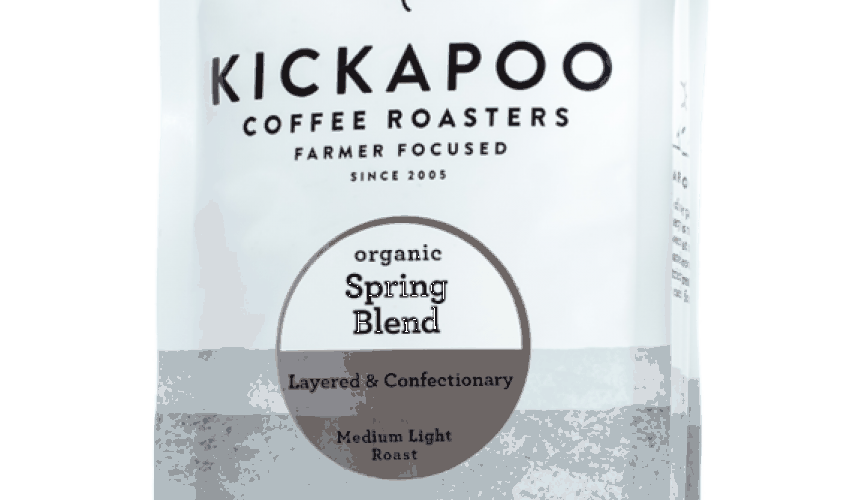 Roast of the Month: Kickapoo Spring Blend