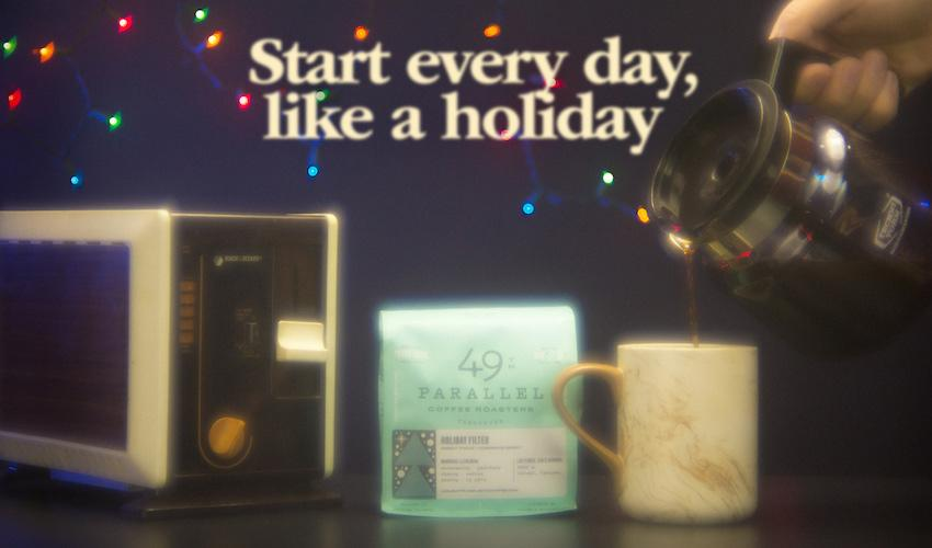 12 Days of Coffee: 49th Parallel Coffee Roasters - Holiday Filter
