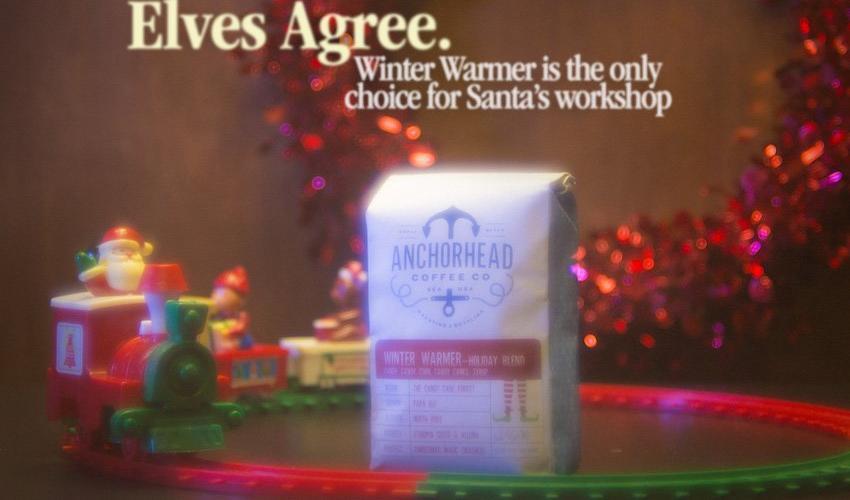 12 Days of Coffee: Anchorhead Coffee Company - Winter Warmer