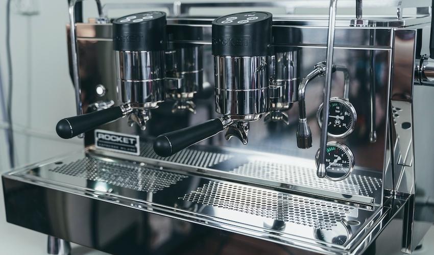 A Look At Rocket Espresso's RE Doppia Commercial Espresso Machine